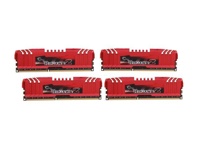 G.SKILL Ripjaws Z Series 32GB (4 x 8GB) 240-Pin DDR3 SDRAM DDR3 2133 (PC3 17000) Desktop Memory Model F3-2133C11Q-32GZL