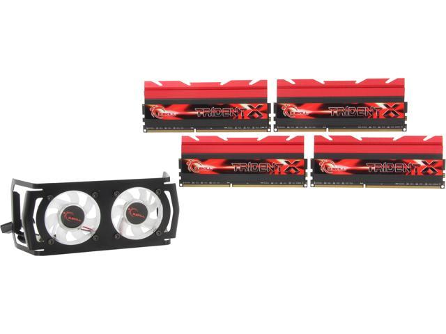 G.SKILL TridentX Series 32GB (4 x 8GB) 240-Pin DDR3 SDRAM DDR3 2800 (PC3 22400) Desktop Memory Model F3-2800C12Q-32GTXDG
