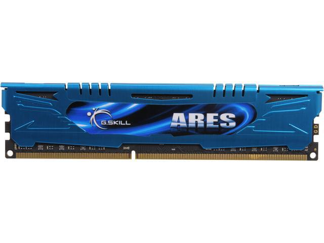 G.SKILL Ares Series 4GB 240-Pin DDR3 SDRAM DDR3 1600 (PC3 12800) Desktop Memory Model F3-1600C9S-4GAB