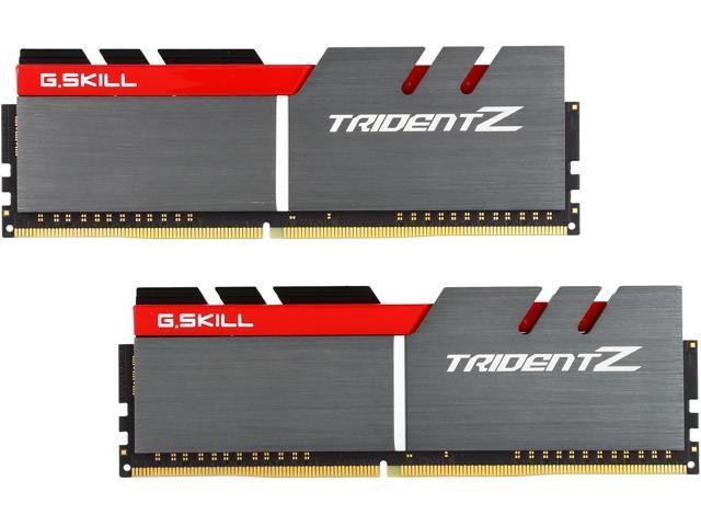 2017黑五:G.SKILL芝奇 TridentZ Series 16GB (2 x 8GB) 288-Pin DDR4 3200台式机内存
