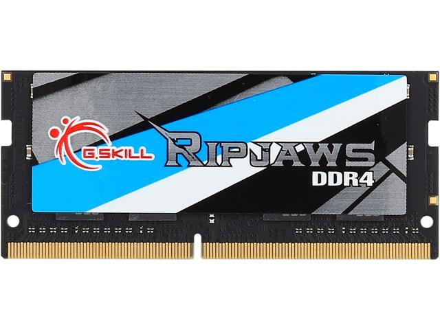Картинки по запросу G.SKILL Ripjaws Series 8GB 260-Pin DDR4 SO-DIMM DDR4 2400