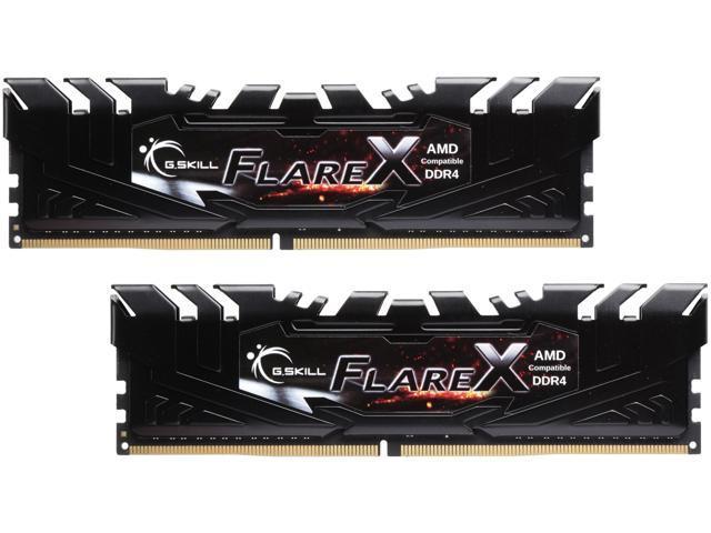 G SKILL Flare X Series 16GB (2 x 8GB) 288-Pin DDR4 SDRAM DDR4 3200