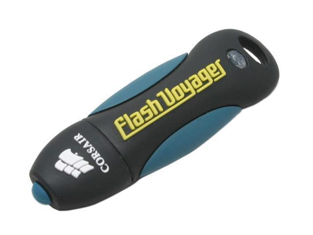 CORSAIR Flash Voyager 2GB Flash Drive (USB2.0 Portable) Model CMFUSB2.0-2GB