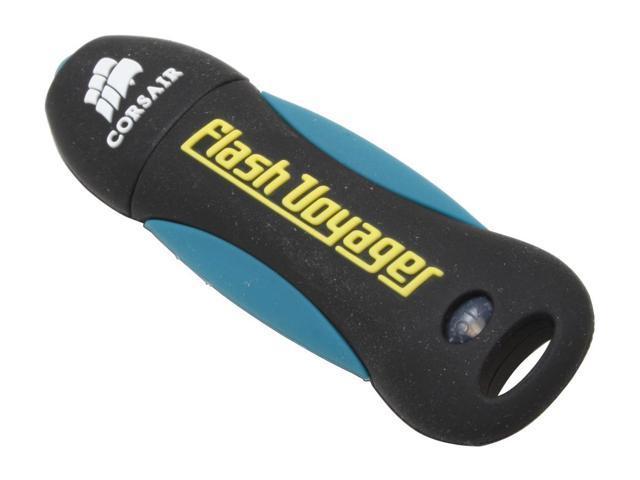 CORSAIR Flash Voyager 4GB Flash Drive (USB2.0 Portable)
