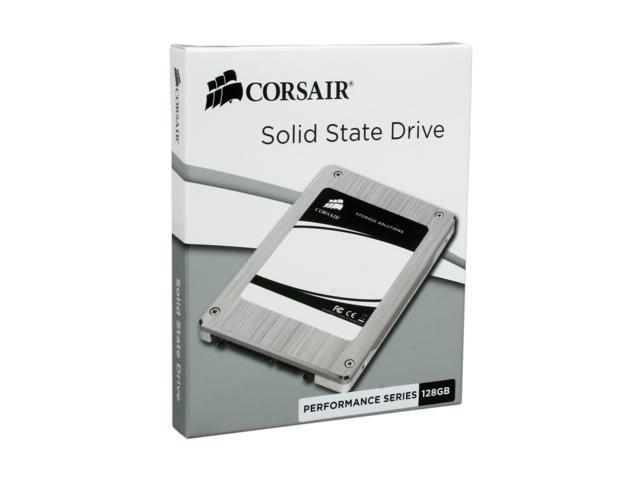 """Corsair P128 2.5"""" 128GB SATA II MLC Internal Solid State Drive (SSD) CMFSSD-128GBG2D"""