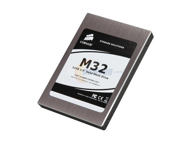 """Corsair 2.5"""" 32GB SATA II Internal Solid State Drive (SSD) CMFSSD-32N1"""
