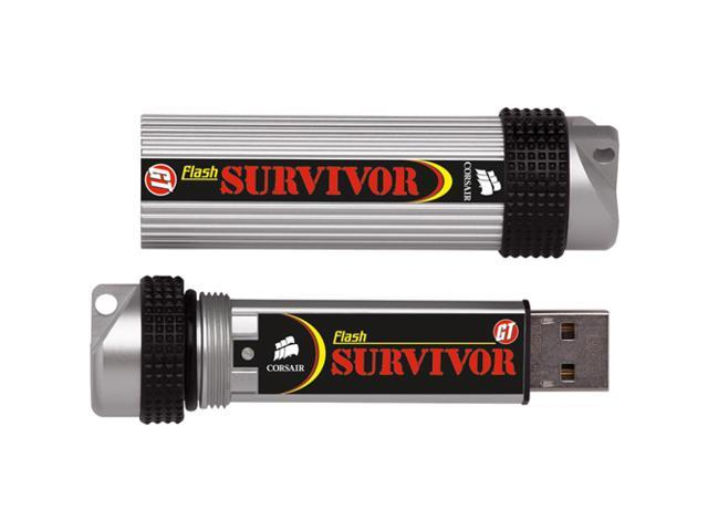 CORSAIR Survivor GTR 64GB USB 2.0 Flash Drive Model CMFSRA64GBGT2