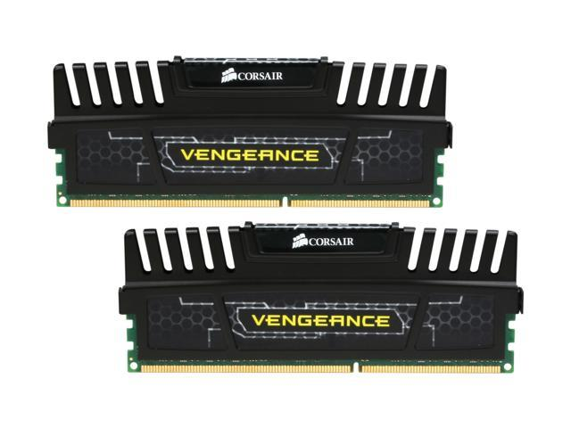 CORSAIR Vengeance 8GB (2 x 4GB) 240-Pin DDR3 SDRAM DDR3 1600 (PC3 12800) Desktop Memory Model CMZ8GX3M2A1600C8