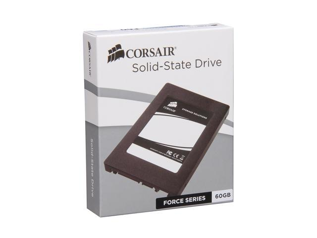 "Corsair Force Series 2.5"" 60GB SATA II MLC Internal Solid State Drive (SSD) CSSD-F60GB2-BRKT-A"
