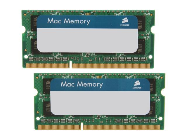 CORSAIR 8GB (2 x 4GB) DDR3 1333 (PC3 10600) Memory for Apple Model CMSA8GX3M2A1333C9