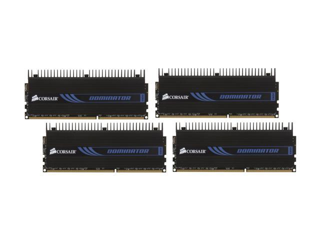 CORSAIR DOMINATOR 16GB (4 x 4GB) 240-Pin DDR3 SDRAM DDR3 1866 Desktop Memory Model CMP16GX3M4X1866C9