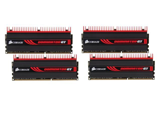 CORSAIR DOMINATOR GT 16GB (4 x 4GB) 240-Pin DDR3 SDRAM DDR3 2133 Desktop Memory Model CMT16GX3M4X2133C9