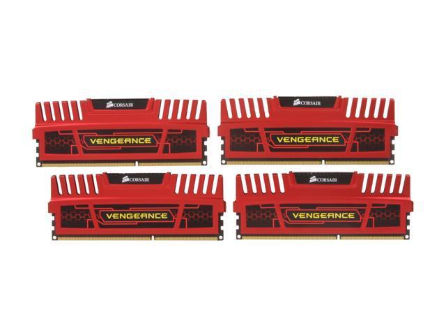 CORSAIR Vengeance 8GB (4 x 2GB) 240-Pin DDR3 SDRAM DDR3 1600 Desktop Memory Model CMZ8GX3M4X1600C8R