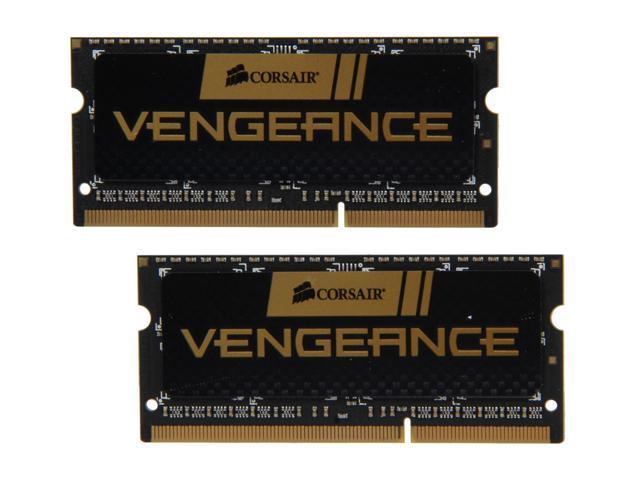 CORSAIR Vengeance 8GB (2 x 4GB) 204-Pin DDR3 SO-DIMM DDR3 1866 Laptop Memory Model CMSX8GX3M2A1866C10