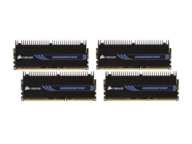 CORSAIR DOMINATOR 16GB (4 x 4GB) 240-Pin DDR3 SDRAM DDR3 1600 (PC3 12800) Desktop Memory Model CMP16GX3M4X1600C7