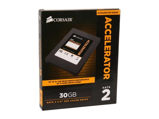 "Corsair Accelerator Series 2.5"" 30GB SATA II Internal Solid State Drive (SSD) CSSD-C30GB"