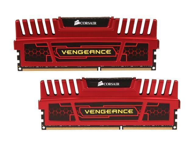 CORSAIR Vengeance 16GB (2 x 8GB) 240-Pin DDR3 SDRAM DDR3 1866 (PC3 14900) Desktop Memory Model CMZ16GX3M2A1866C10R