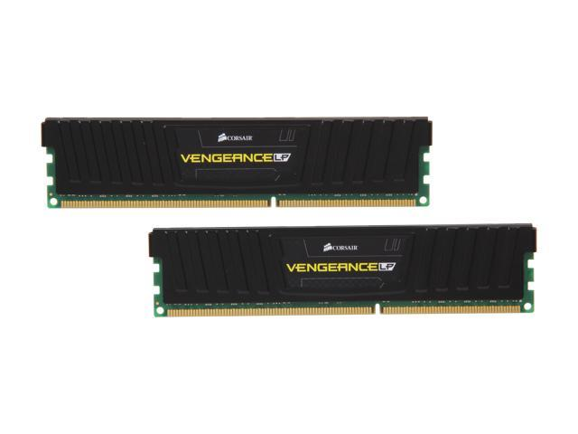 CORSAIR Vengeance LP 16GB (2 x 8GB) 240-Pin DDR3 SDRAM DDR3 1600 (PC3 12800) Desktop Memory Model CML16GX3M2A1600C10