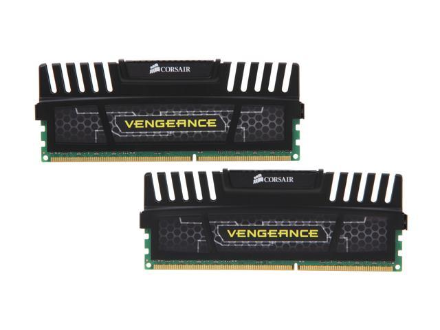 CORSAIR Vengeance 16GB (2 x 8GB) 240-Pin DDR3 SDRAM DDR3 1600 (PC3 12800) Desktop Memory Model CMZ16GX3M2A1600C9