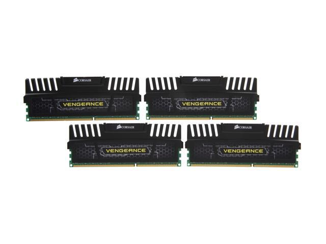 CORSAIR Vengeance 32GB (4 x 8GB) 240-Pin DDR3 SDRAM DDR3 2133 (PC3 17000) Desktop Memory Model CMZ32GX3M4A2133C10