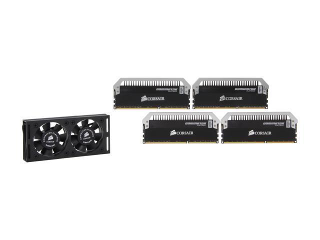 CORSAIR Dominator Platinum 16GB (4 x 4GB) 240-Pin DDR3 SDRAM DDR3 2800 Desktop Memory Model CMD16GX3M4A2800C11