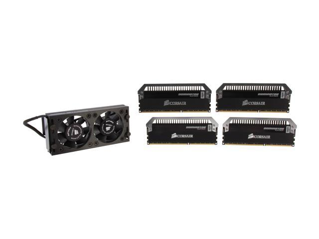 CORSAIR Dominator Platinum 16GB (4 x 4GB) 240-Pin DDR3 SDRAM DDR3 2800 (PC3 22400) Desktop Memory Model CMD16GX3M4A2800C12