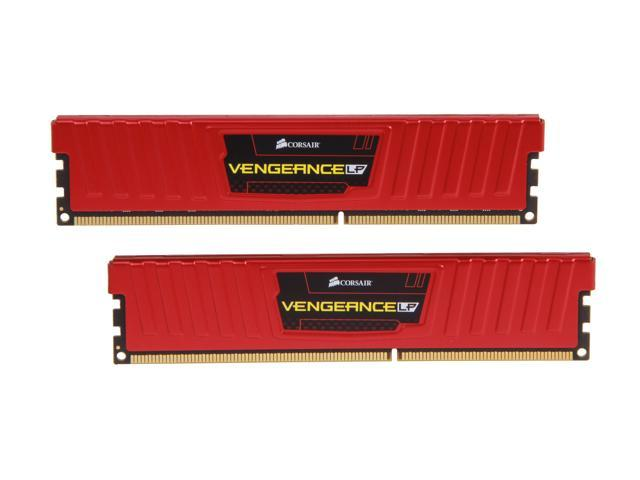 CORSAIR Vengeance LP 16GB (2 x 8GB) 240-Pin DDR3 SDRAM DDR3 1600 (PC3 12800) Desktop Memory Model CML16GX3M2A1600C10R