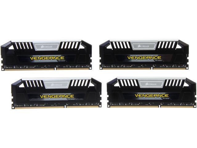 CORSAIR Vengeance Pro 32GB (4 x 8GB) 240-Pin DDR3 SDRAM DDR3 2133 (PC3 17000) Desktop Memory Model CMY32GX3M4A2133C11