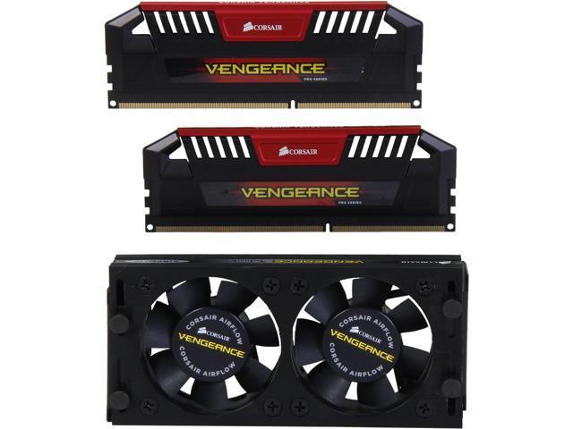 CORSAIR Vengeance Pro 8GB (2 x 4GB) 240-Pin DDR3 SDRAM DDR3 2933 Desktop Memory Model CMY8GX3M2B2933C12R