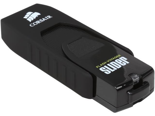 Open Box CORSAIR Flash Voyager LS 128GB USB 3.0 Flash Drive Model CMFSL3 128GB/RF
