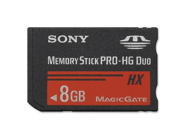 Sony MSHX8B/M 8 GB Memory Stick PRO-HG Duo - 1 Card
