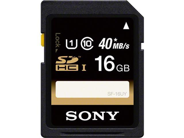 SONY 16GB Secure Digital High-Capacity (SDHC) Flash Card