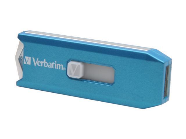 Verbatim Store 'n' Go Metallic 4GB USB 2.0 Flash Drive (Caribbean Blue)