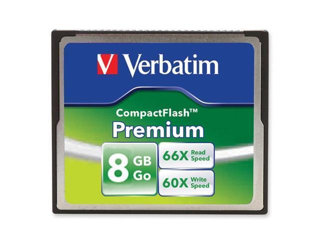 Verbatim 8GB Premium 96196 CompactFlash (CF) Card