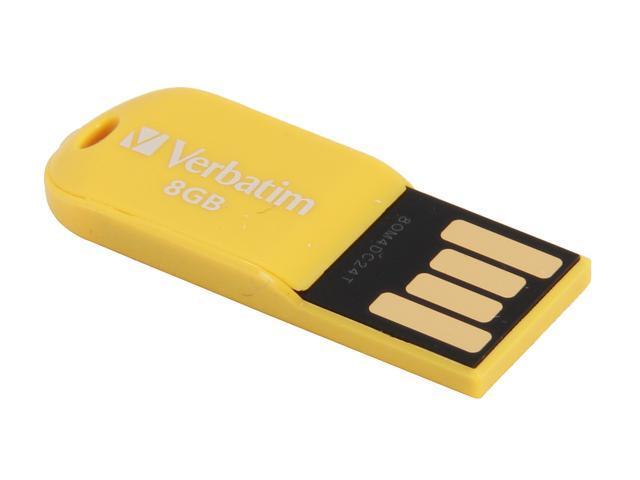 Verbatim Store 'n' Go Micro 8GB USB 2.0 Flash Drive Model 47422