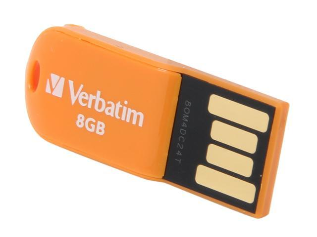 Verbatim Store 'n' Go Micro 8GB USB 2.0 Flash Drive Model 47426