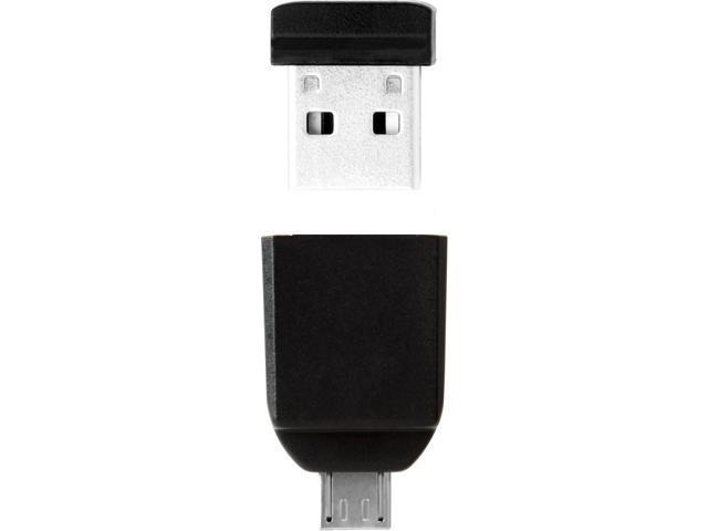 Verbatim 32GB Store 'n' Go Nano USB Drive with Micro USB Adapter