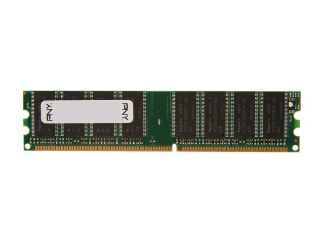 PNY Optima 1GB 184-Pin DDR SDRAM DDR 333 (PC 2700) System Memory Model MD1024SD1-333