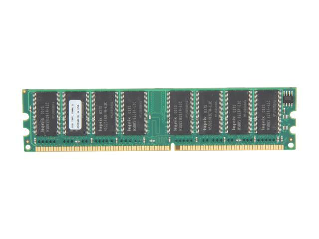 PNY Optima 1GB 184-Pin DIMM DDR 400 (PC 3200) Desktop Memory Model MD1024SD1-400