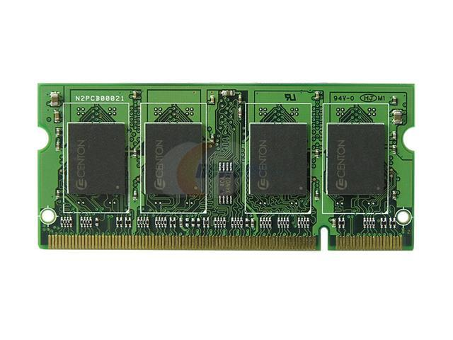 CENTON 2GB 200-Pin DDR2 SO-DIMM DDR2 667 (PC2 5300) Laptop Memory Model 2GB667LT