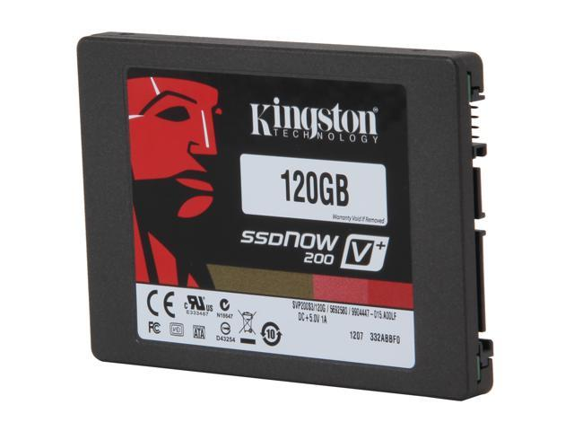 "Kingston SSDNow V+200 2.5"" 120GB SATA III Internal Solid State Drive (Stand-alone Drive) KW-S2120-4B"
