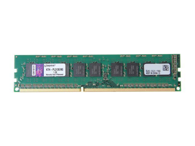 Kingston 8GB 240-Pin DDR3 SDRAM DDR3 1333 ECC System Specific Memory Model KTH-PL313E/8G