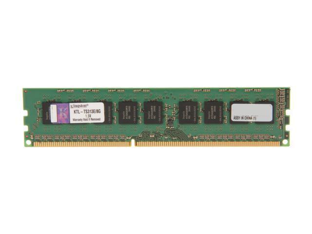 Kingston 8GB 240-Pin DDR3 SDRAM DDR3 1333 ECC System Specific Memory Model KTL-TS313E/8G