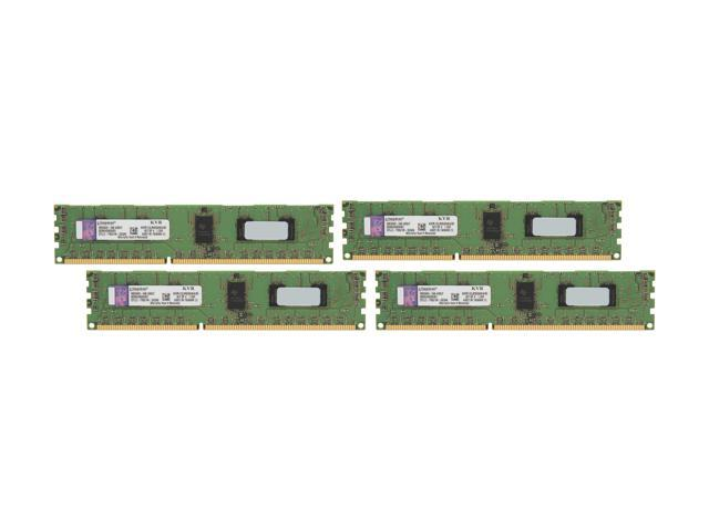 Kingston ValueRAM 8GB (4 x 2GB) 240-Pin DDR3 SDRAM ECC Registered DDR3 1333 Server Memory SR x8 1.35V Intel Model KVR13LR9S8K4/8I