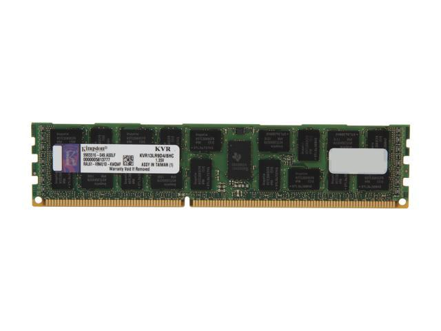 Kingston 8GB 240-Pin DDR3 SDRAM ECC Registered DDR3 1333 Server Memory DR x4 1.35V Hynix C Model KVR13LR9D4/8HC