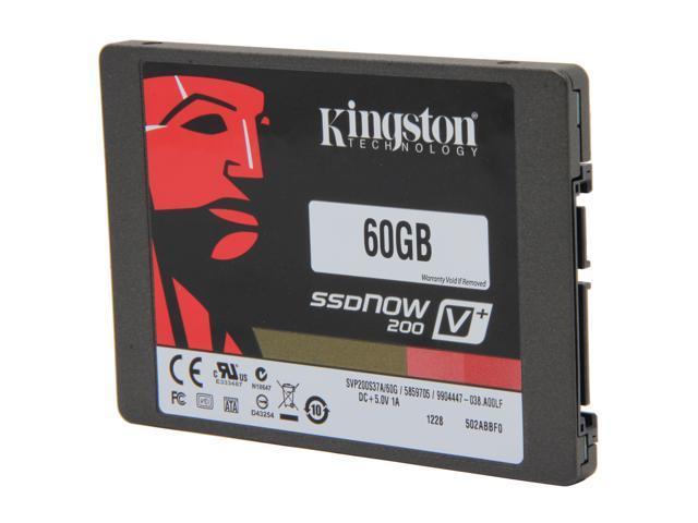 "Kingston SSDNow V+200 2.5"" 60GB SATA III Internal 7mm Solid State Drive (SSD) (Stand-alone Drive) KR-S3060-3H"
