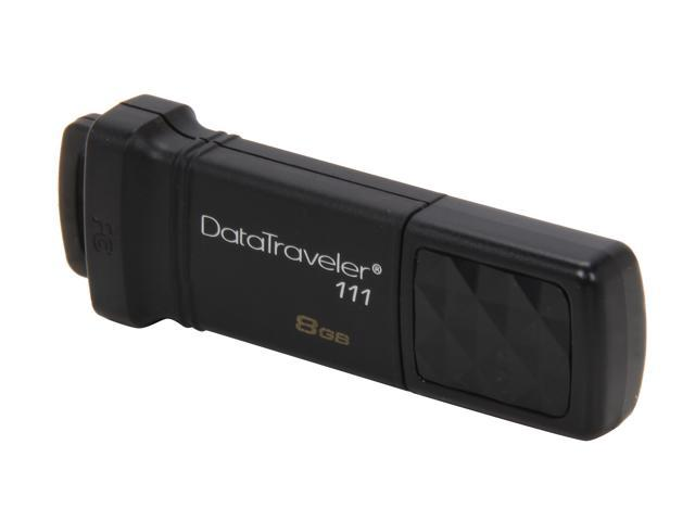 Kingston DataTraveler 111 8GB USB 3.0 Flash Drive Model DT111/8GB