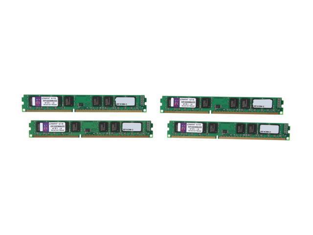 Kingston 32GB (4 x 8GB) 240-Pin DDR3 SDRAM Unbuffered DDR3 1333 Server Memory Model KVR1333D3N9K4/32G