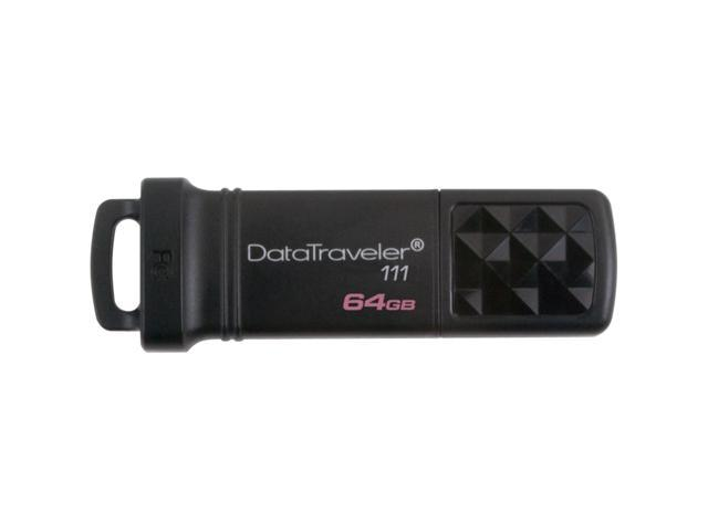 Kingston DataTraveler 111 64 GB USB 3.0 Flash Drive - 1 Pack