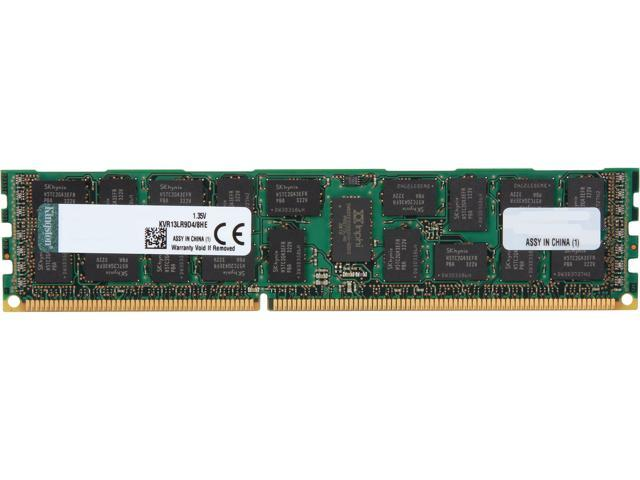 Kingston 8GB 240-Pin DDR3 SDRAM ECC Registered DDR3 1333 Server Memory (Server Hynix E) Model KVR13LR9D4/8HE